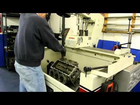 Rottler HP6A Cylinder Hone Honing Yamaha 3.1 V-6 Outboard Blind Hole Toni Marine