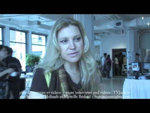 Eliane Elias Interview from the 30th FIJM - part 1 - TVJazz.tv