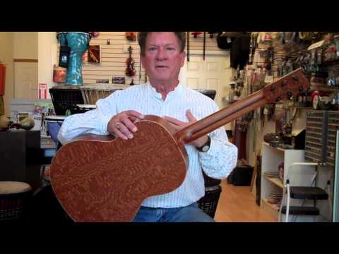 Exclusive ron Barnes HandMade Guitars At ABC Music Store & Academy