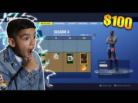 Surprising Little Brother With *NEW* Free Battle Pass! Fortnite Season 4 Update!
