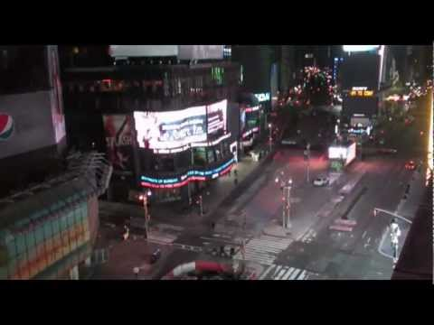 Times Square, NYC 2013 - STREAM WEBCAM 2013-03-24