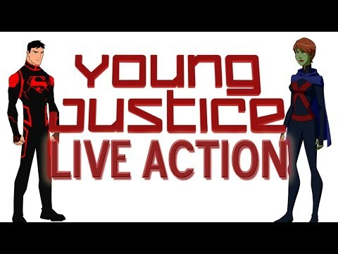 Young Justice Live Action TV Show On CW Confirmed?