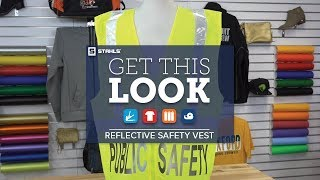 How to Get This Look:  Safety with Reflective HTV