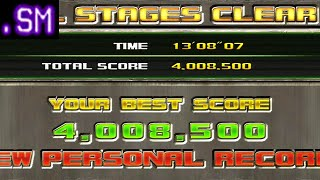 Time Crisis Razing Storm - ALL, 4 Million Points - Stage 1