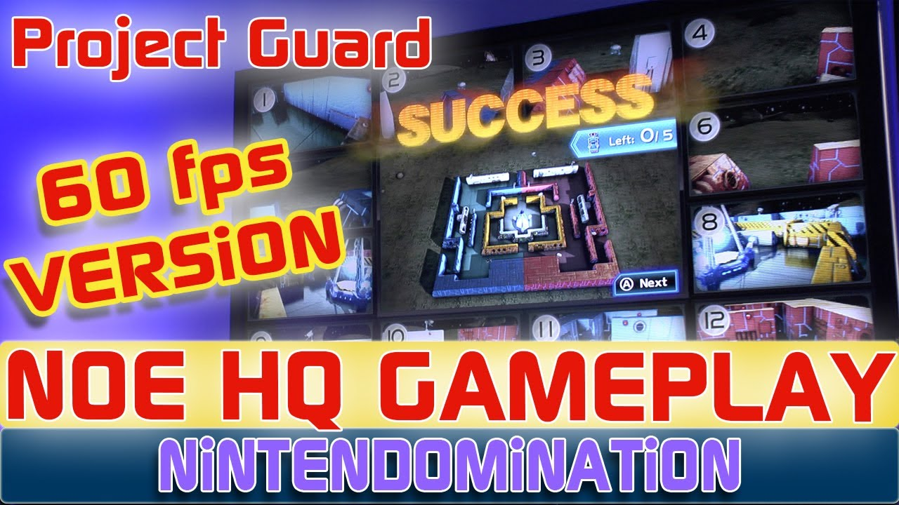 WiiU - Project Guard (60 fps Version) - Nintendo HQ Gameplay