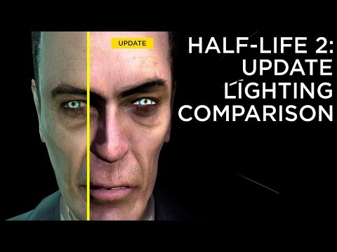 Half-Life 2: Update - Lighting Comparison - YouTube