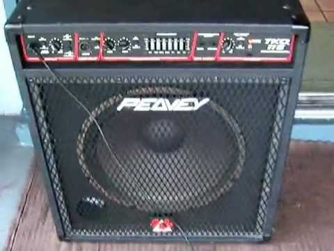 peavey amp 115 combo bass youtube. Black Bedroom Furniture Sets. Home Design Ideas