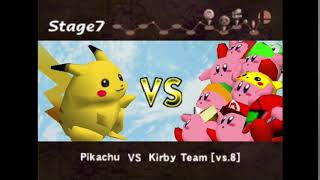 "Making The (Super Smash Bros. Melee) Announcer Saying: ""Kirby Team"""