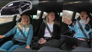 Family Reacts To Lamborghini Launch!