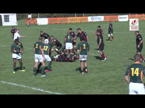 South African National Defence Force vs Sports Club Armia Georgia IDRC Pool A Highlights 8-10-15