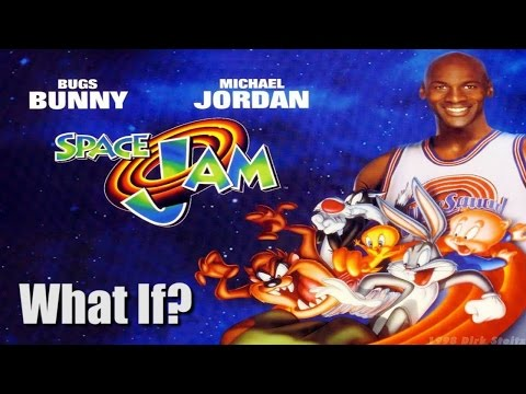 What If Michael Jordan And The Tune Squad Played In The Nba Space Jam Youtube