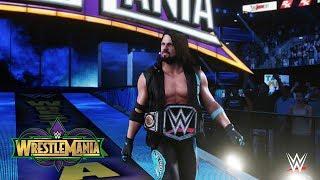 Wrestlemania 34 - AJ Styles-Eingang - WWE 2K18