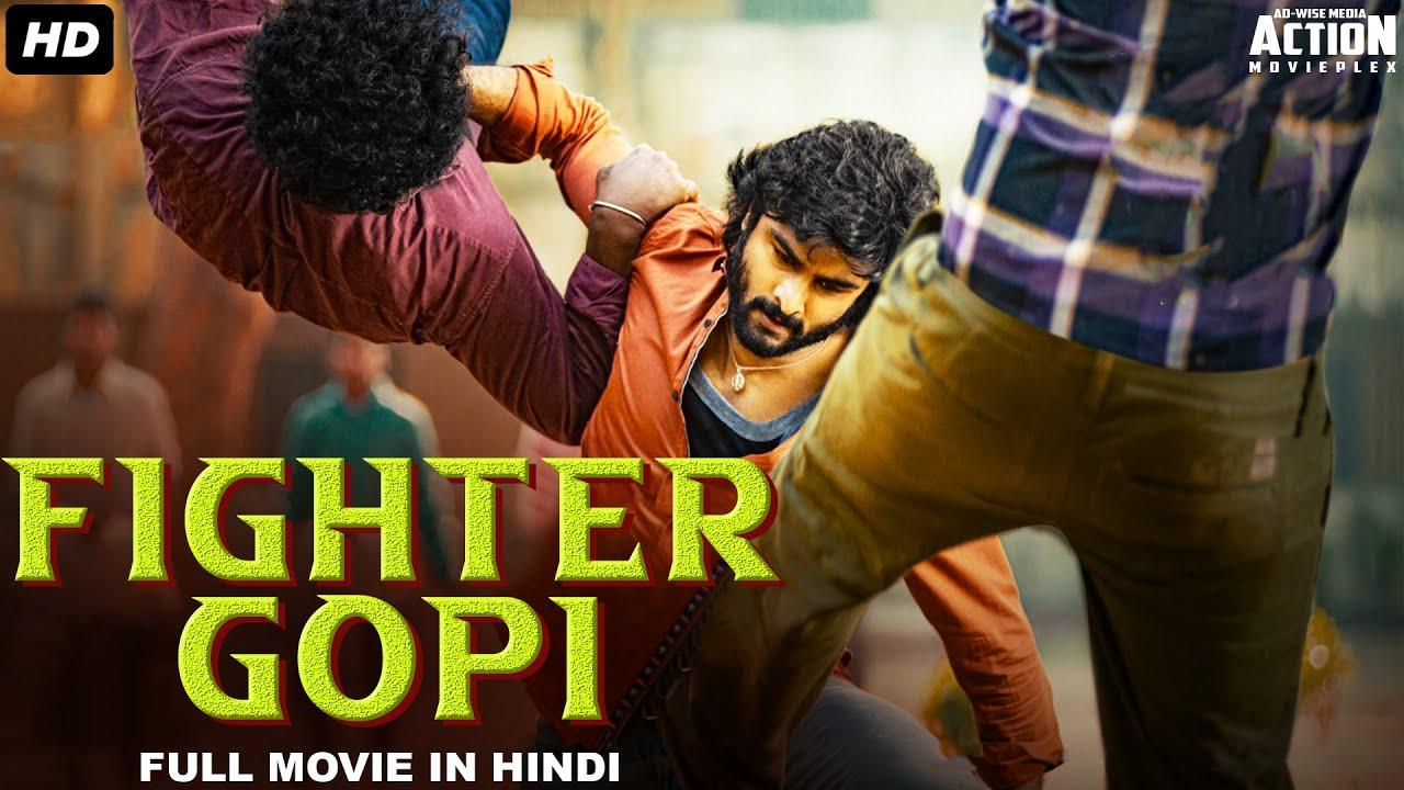 FIGHTER GOPI Full Movie Hindi Dubbed | Blockbuster Superhit Hindi Dubbed Full Action Romantic Movie
