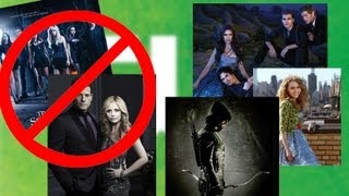 The CW - New Shows & Cancellations Fall 2012