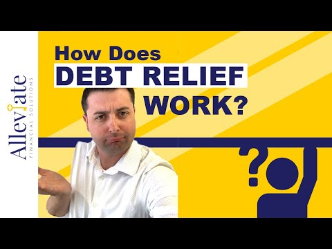 How Debt Relief Works? | How Debt Settlement Works? | Alleviate Financial Solutions (2019)