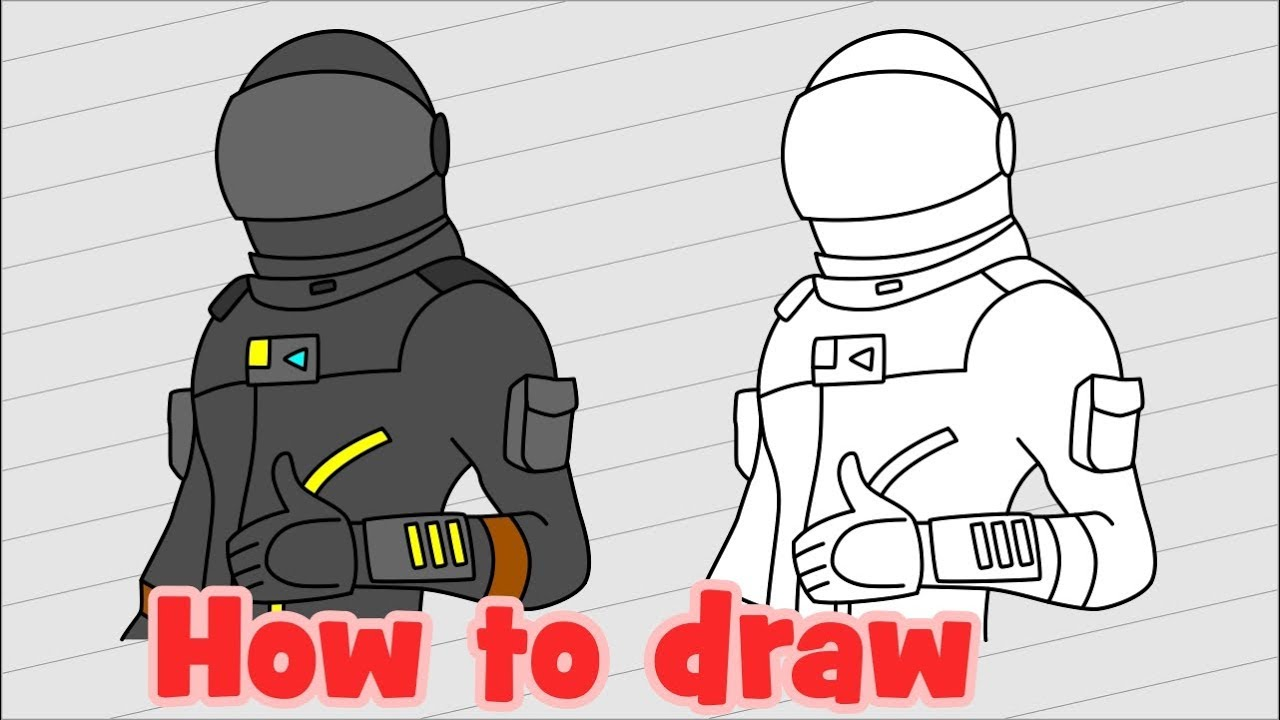 how to draw the dark voyager