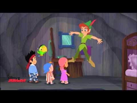 Jake sjunger: Peter Pans Tuffa Gäng - Disney Junior Sverige