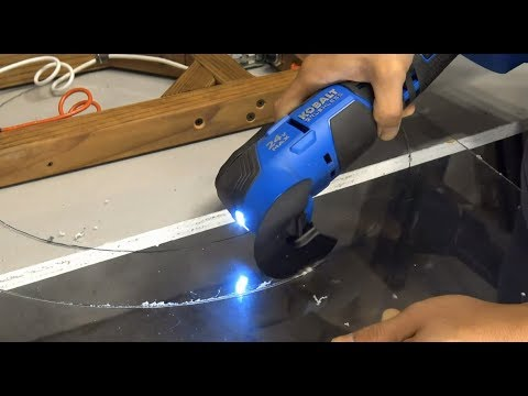 How To Cut Plexigl Acrylic Fast And Easy With An Oscillating Tool Multi
