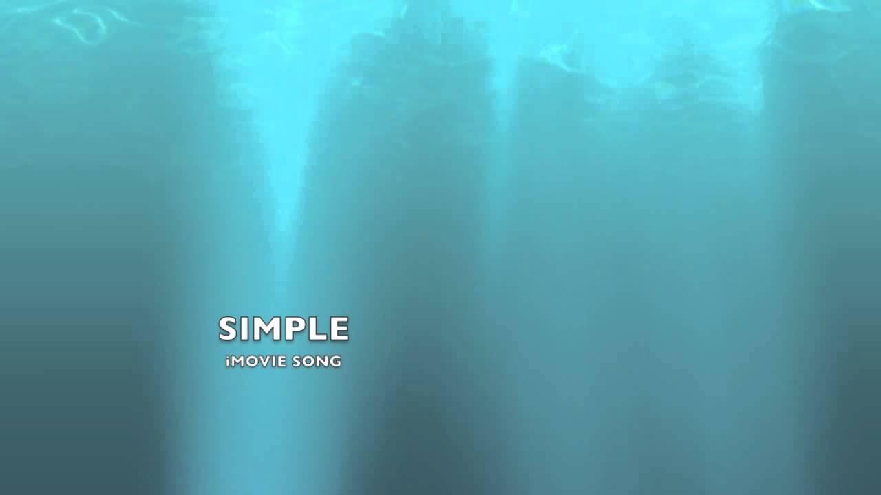 Музыка из программы imovie