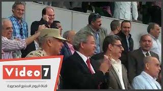 """فرحة رئيس الأهلى وفاروق الفيشاوى بهدف """"عبدالله السعيد"""""""