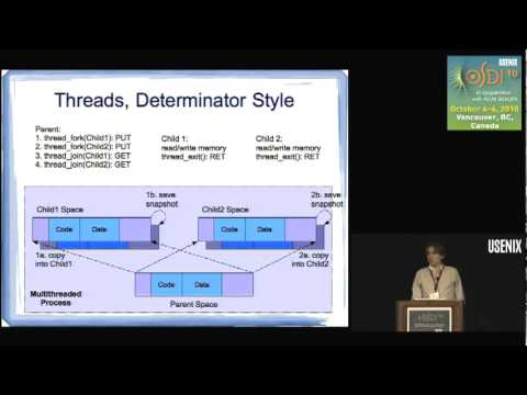 Efficient System-Enforced Deterministic Parallelism