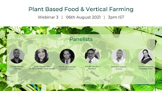 Webinar 3   Plant Based Food & Vertical Farming