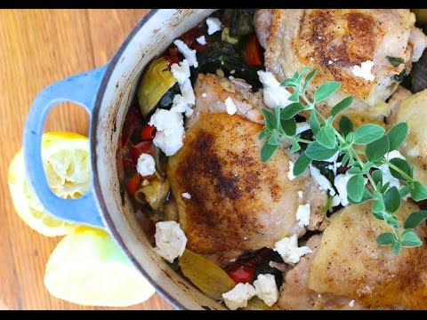 Dinner recipe baked chicken thighs by everyday gourmet with blakely dinner recipe baked chicken thighs by everyday gourmet with blakely forumfinder Gallery