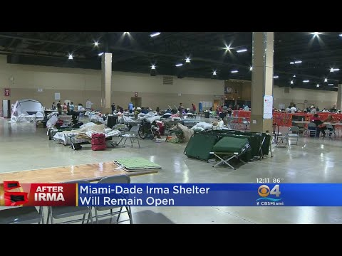 Miami-Dade Irma Shelter Will Remain Open