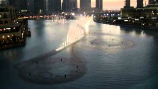 Dubai Fountain am Burj Khalifa I Will Always Love You Whitney Houston