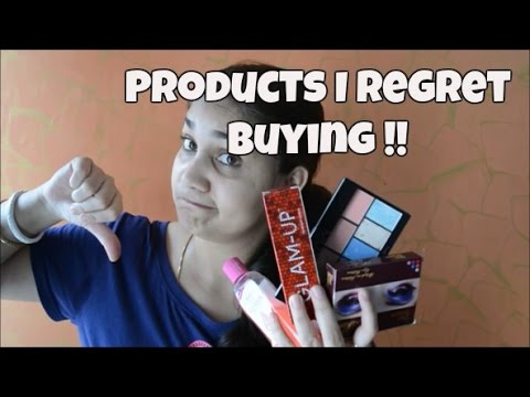Products I Regret Buying !! | Products Available in Indian Market | Nidhi Katiyar