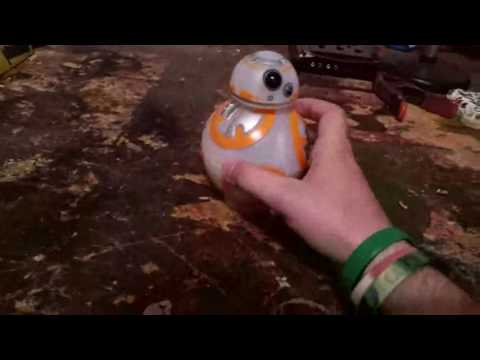 Star Wars New BB-8 Spinning Top with Lights and Sounds Toy BB8 Complete Review