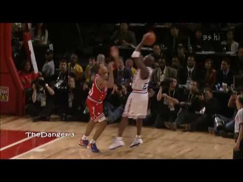 Michael Jordan 2003 NBA All-Star Game Fadeaway (FULL HD)