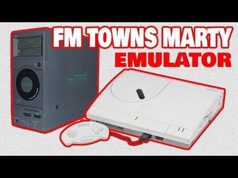 TUTORIAL] FM TOWNS MARTY - Unz Emulator (Ver  0 5 L30) - YouTube