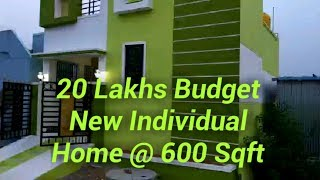 New 1Bhk Individual Home/ New Home 600 Sqft