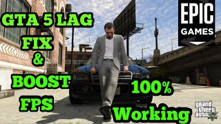HOW TO FIX GTA 5 LAG ON PC AND INCREASE FPS 2020 FOR WINDOWS 7/8/10 | 100% WORKING |