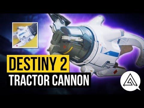 DESTINY 2   Tractor Cannon Exotic Shotgun Gameplay & Perk Overview