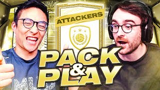 MOMENTS ICON!! FIFA 21 Attacker Icon Pack & Play w/ @AJ3