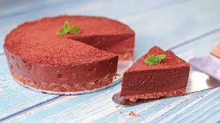 Chocolate Mousse Cake | No Bake Chocolate Mousse Cake | Eggless & Without Oven | Yummy