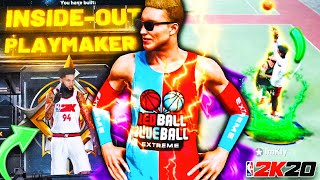 "THE FIRST EVER LEGEND 99 OVR ""INSIDE OUT PLAYMAKER"" BUILD IN NBA 2K20!! (Very Rare) Best Guard Build"