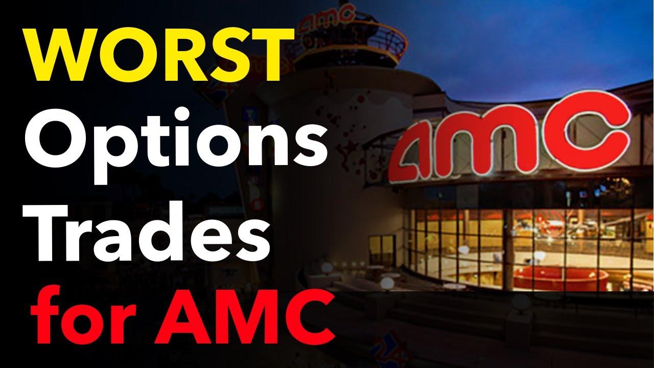 Video #152)  The WORST AMC Option Trades to take