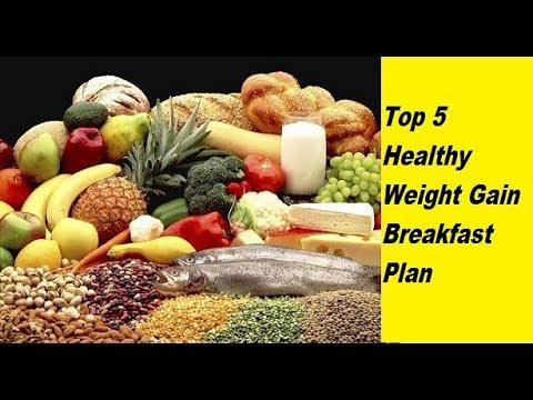 5 Healthy Weight Gain Breakfast Tips How To Gain Weight Youtube