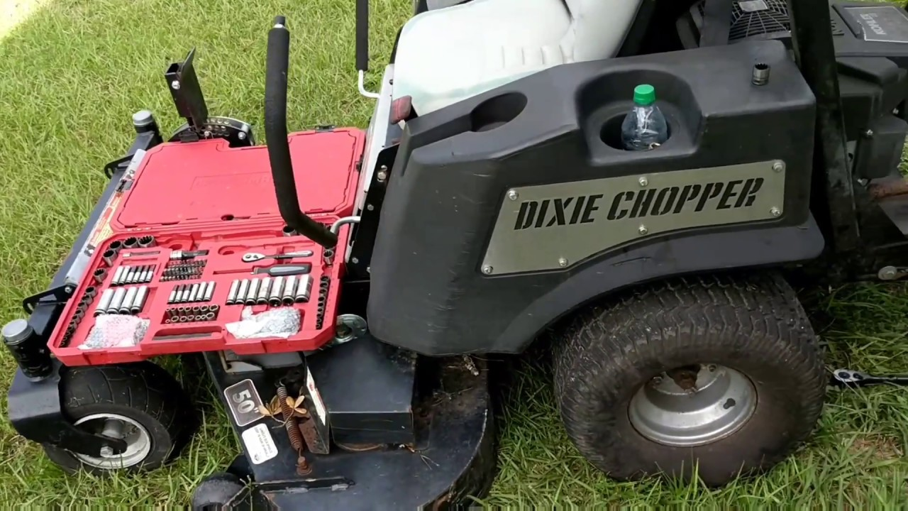 how to change the drive belt on a zero turn mower dixie. Black Bedroom Furniture Sets. Home Design Ideas