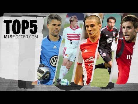 Top 5 - Greatest Canadian Players in MLS History