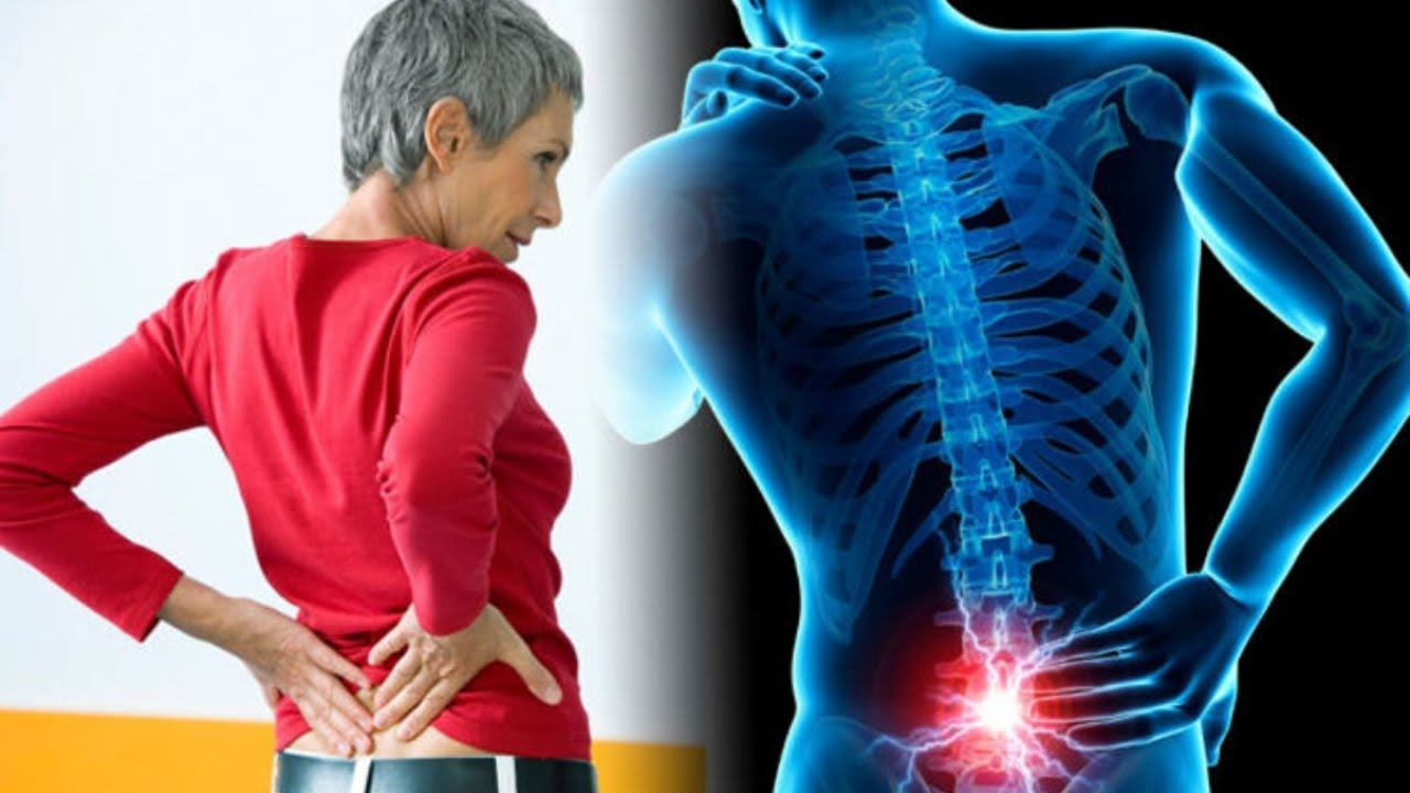 Large breasts lower back pain