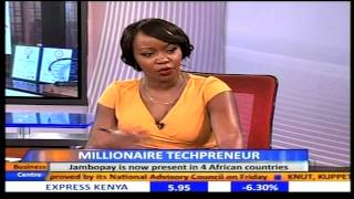 Business Center Interview with Danson Muchemi - Founder and CEO, Jambopay