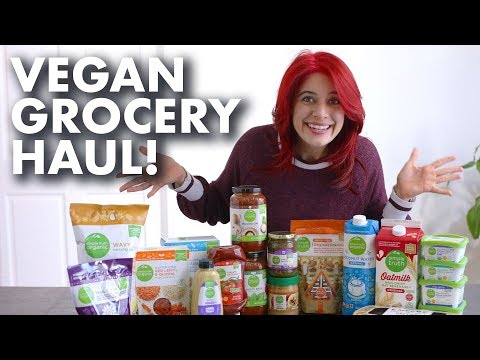 Vegan Grocery Haul at Kroger/Ralphs