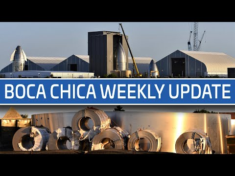 SpaceX Boca Chica Weekly Update - Starship fabrication continues at speed as high bay takes shape