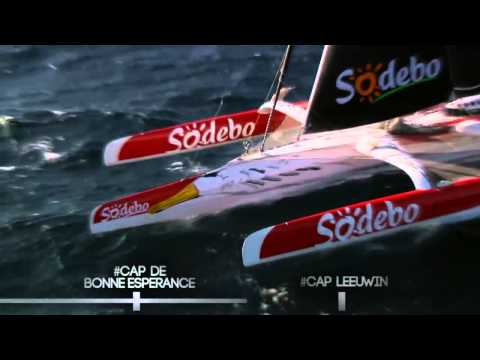 Maxi Trimaran Sodebo Waits to Race Around the World 2013