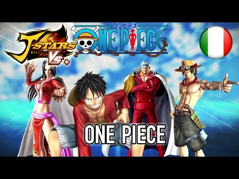 J-Stars Victory VS+ - PS4/PS3/PS Vita - One Piece (Italian Trailer)