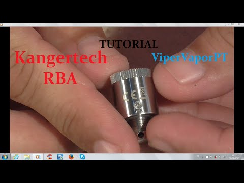 How to Wick and Coil New RBA Subtank Mini for beginners